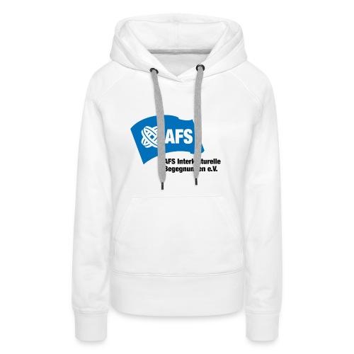 AFS-Logo - Frauen Premium Hoodie
