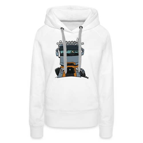 0813 R truck - Vrouwen Premium hoodie