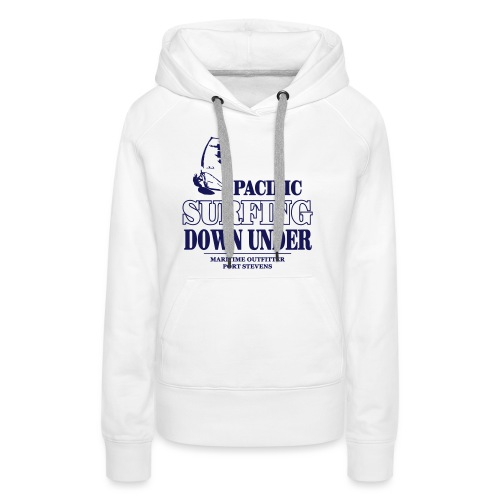 Pacific Surfing Down Under - Women's Premium Hoodie