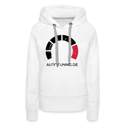 AUTOTUNING_LOGO_GRUNGE - Frauen Premium Hoodie