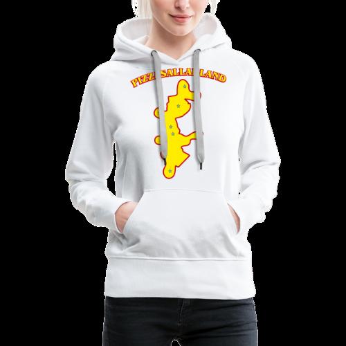 T-shirt, Pizzasalladland - Premiumluvtröja dam
