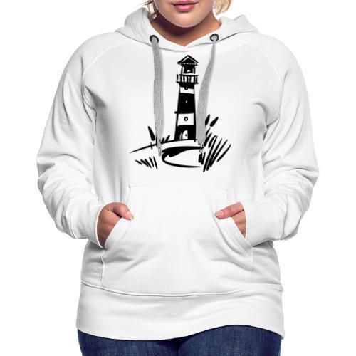 Leuchtturm klassisch - Frauen Premium Hoodie