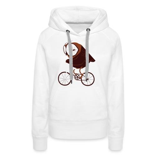 Cycling Owl - Frauen Premium Hoodie