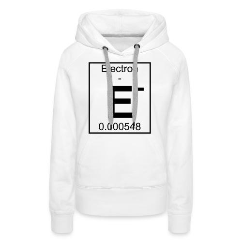 E (electron) - pfll - Women's Premium Hoodie