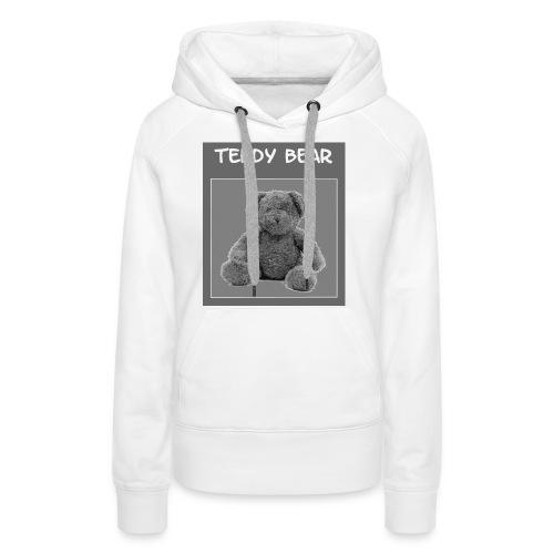 Official T-shirt Teddy Bear - Sweat-shirt à capuche Premium pour femmes
