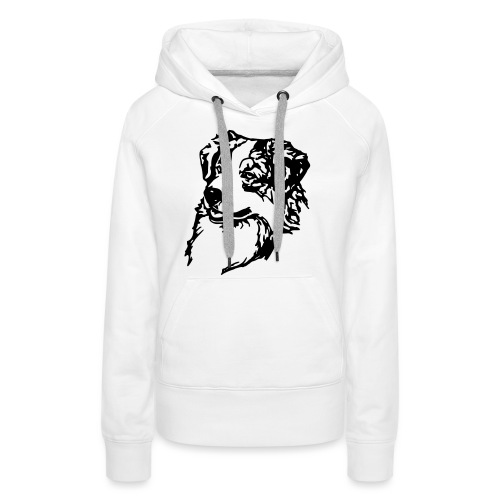 Australian Shepherd Kopf - Frauen Premium Hoodie