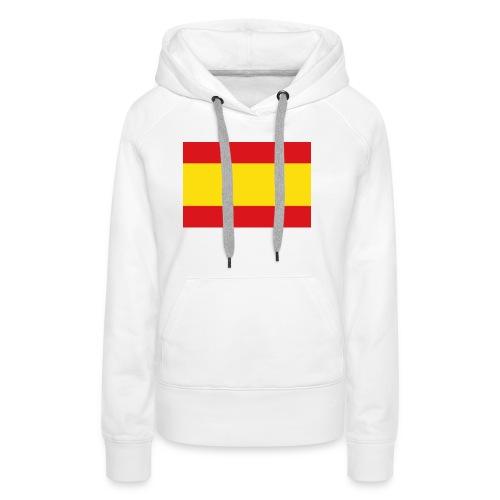 vlag van spanje - Vrouwen Premium hoodie