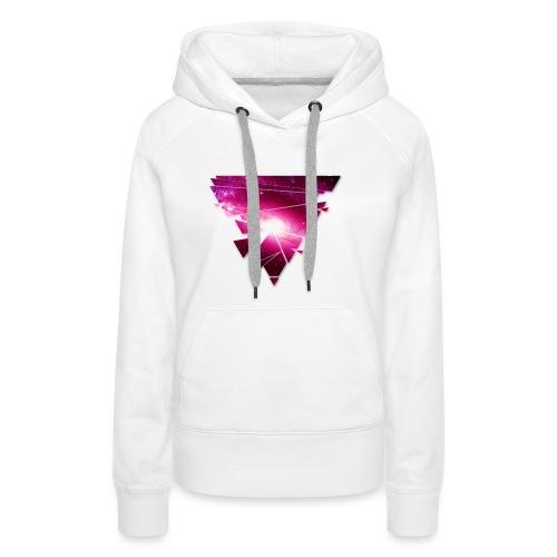 Dreieck Zersplittert png - Frauen Premium Hoodie