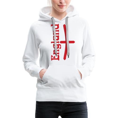 England motif - Women's Premium Hoodie