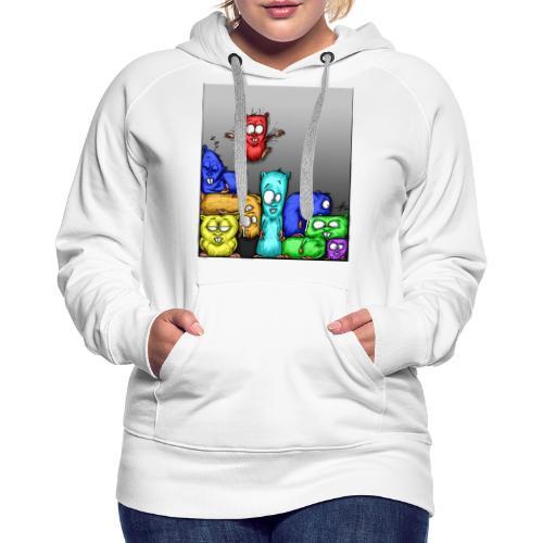 hamstris_farbe - Frauen Premium Hoodie