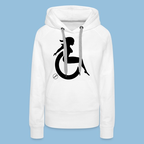 Sexywheelchairlady1 - Vrouwen Premium hoodie