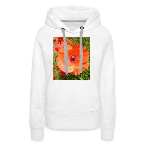 poppy - Women's Premium Hoodie