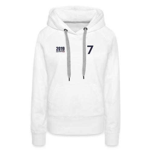 France 2019 - Sweat-shirt à capuche Premium pour femmes
