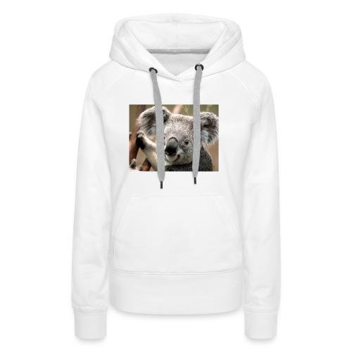 Koala - Sweat-shirt à capuche Premium pour femmes