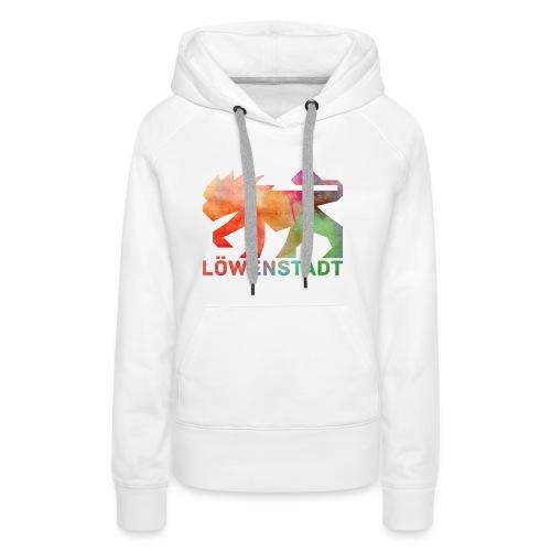 Löwenstadt Design 5 - Frauen Premium Hoodie