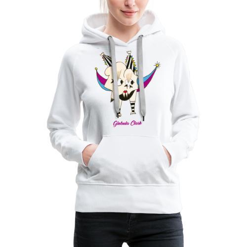 Globula Clark - Sweat-shirt à capuche Premium pour femmes