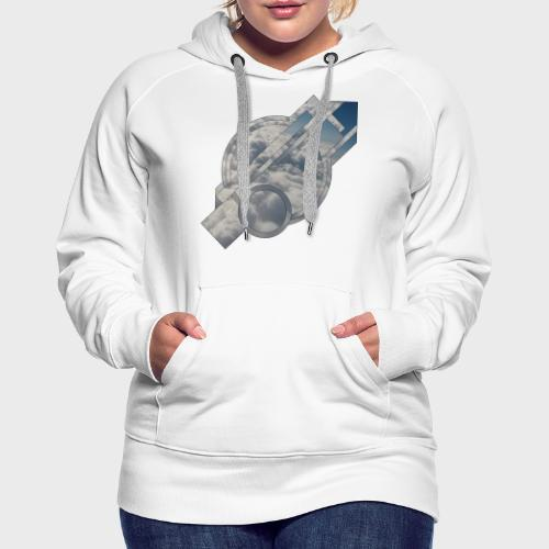 Abstract Cloud - Frauen Premium Hoodie