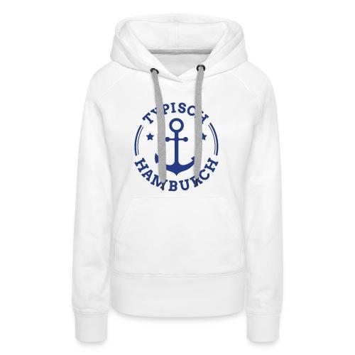 thh logo blau neu - Frauen Premium Hoodie