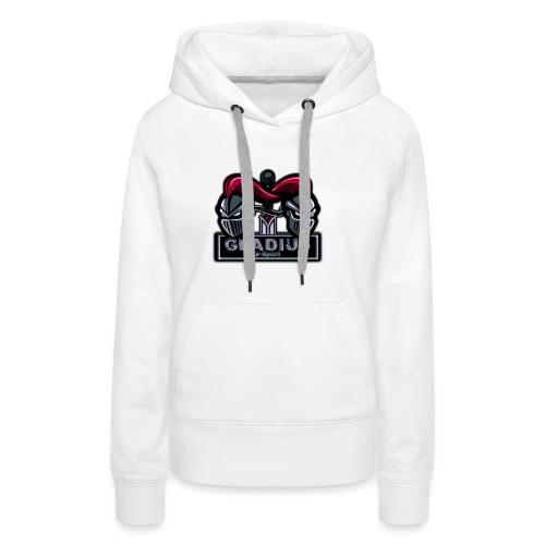 LOGO GladiuS eSport OFFICIEL - Sweat-shirt à capuche Premium pour femmes