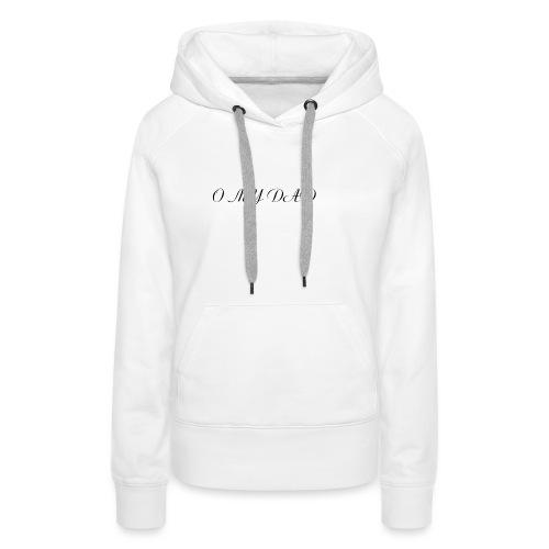 omydad f agnes 2kx2k - Sweat-shirt à capuche Premium pour femmes