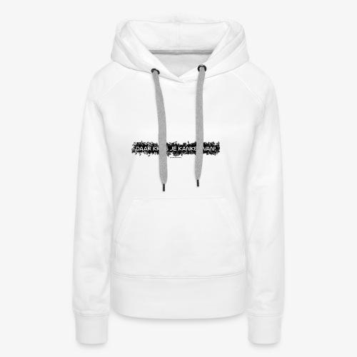 HD Supper Pussydestroyer - Vrouwen Premium hoodie