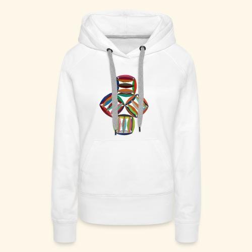 square2square - Vrouwen Premium hoodie