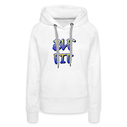 Blf Fit - Sweat-shirt à capuche Premium pour femmes