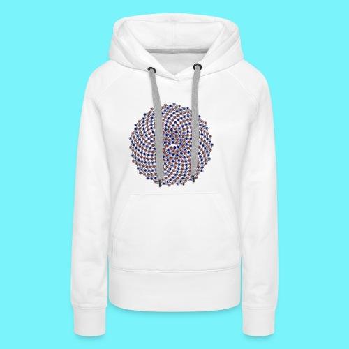 Fibonacci network one - Women's Premium Hoodie