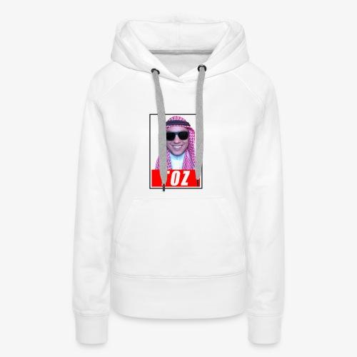 TozQatar - Sweat-shirt à capuche Premium pour femmes
