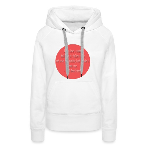 Leigh-Anne Pinnock Quote - Women's Premium Hoodie