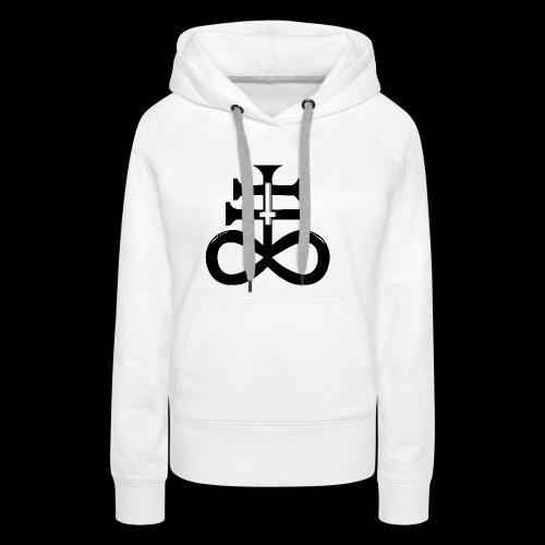 satanic cross - Women's Premium Hoodie