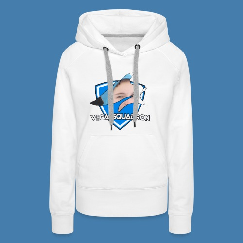 Veega Full Chest Logo - Premium hettegenser for kvinner