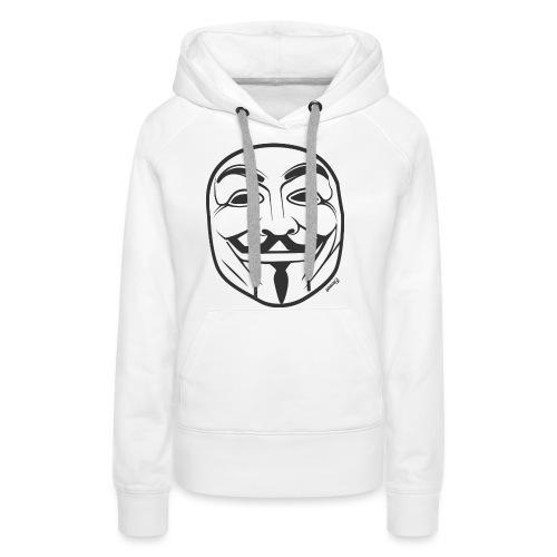 *NEW* Anonymous (H) - Sweat-shirt à capuche Premium pour femmes