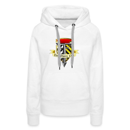 TOC Gothic Clear Background 1 - Women's Premium Hoodie