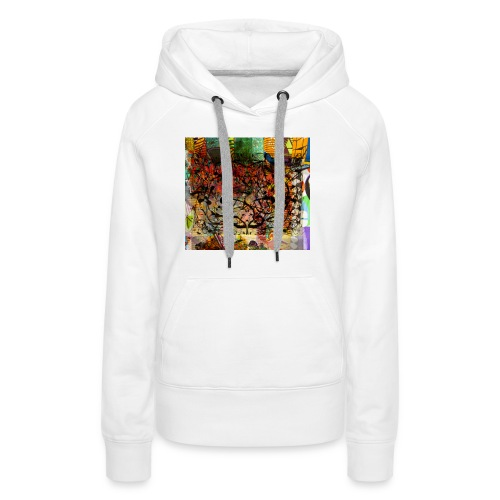 urban tribute - Sweat-shirt à capuche Premium pour femmes
