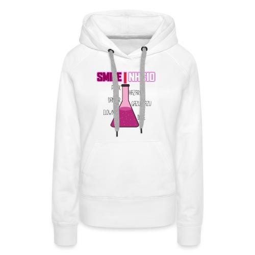 SMILE NHC10 - Sweat-shirt à capuche Premium pour femmes