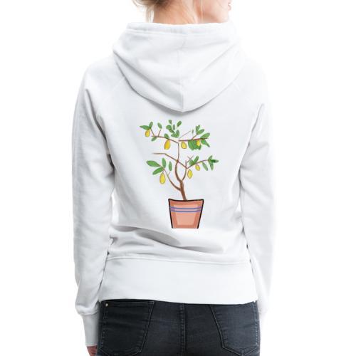 Lemon tree - Naisten premium-huppari