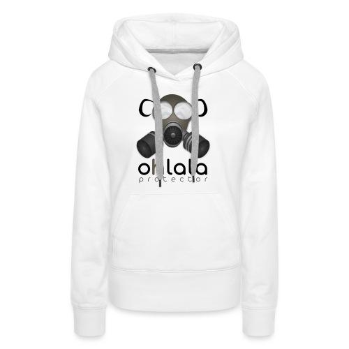 OHLALA PROTECTOR BLK - Frauen Premium Hoodie