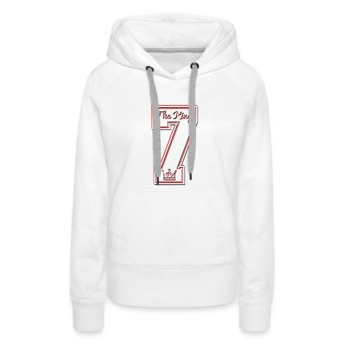 Collection THE KING 7 - Sweat-shirt à capuche Premium pour femmes