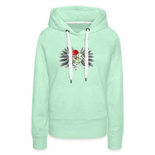 Love, Peace and Hope - Liebe, Frieden, Hoffnung - Frauen Premium Hoodie