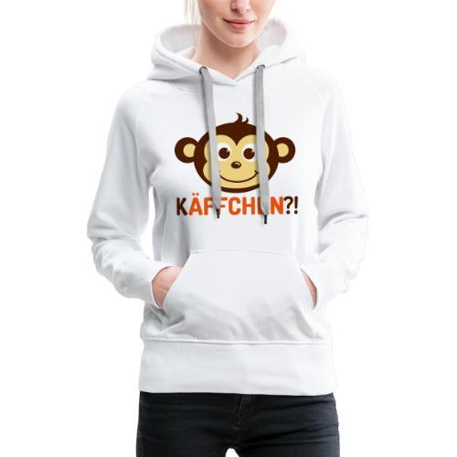 Monkey Käffchen 3 - Frauen Premium Hoodie