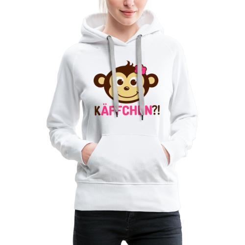 Monkey Käffchen Girl 3 - Frauen Premium Hoodie