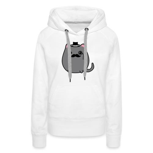 Gentleman Katze - Frauen Premium Hoodie