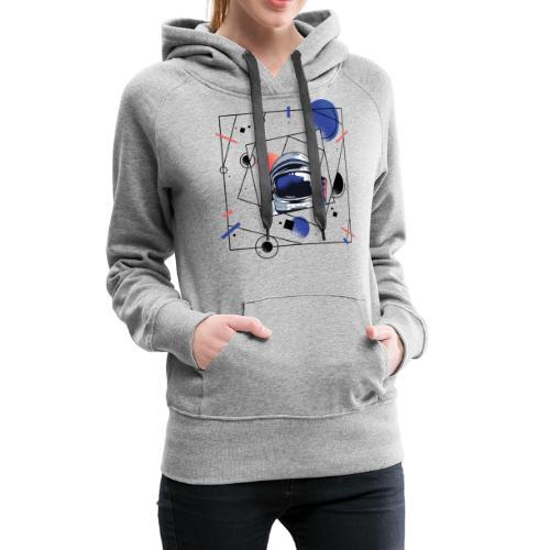 Beste Astronaut Weltraum Designs - Frauen Premium Hoodie