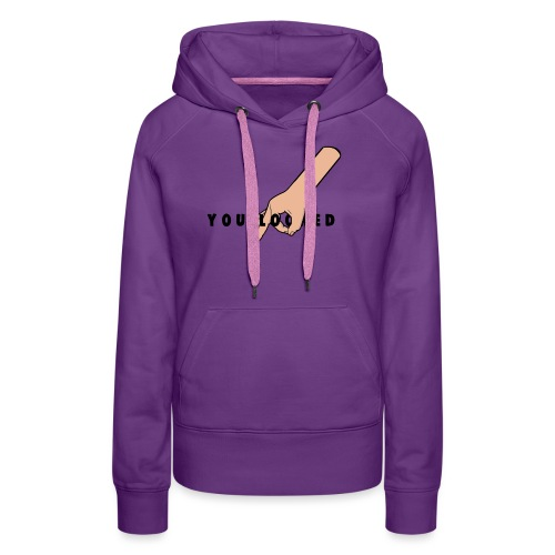The Circle Game: You Looked - Women's Premium Hoodie