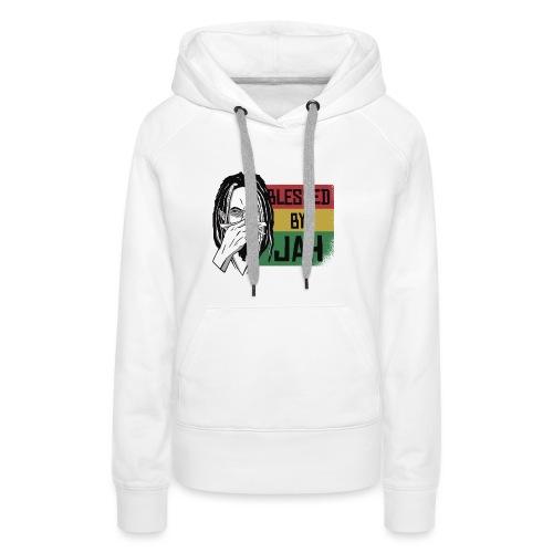 BlessedByJah - Frauen Premium Hoodie