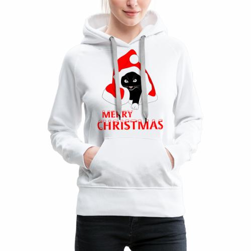 Merry Christmas - Sweat-shirt à capuche Premium pour femmes