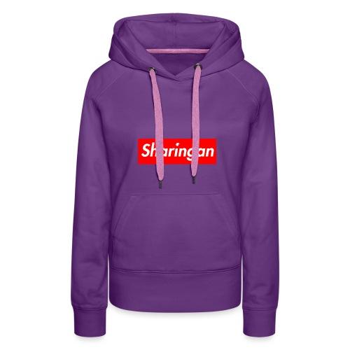 Sharingan tomoe - Sweat-shirt à capuche Premium pour femmes