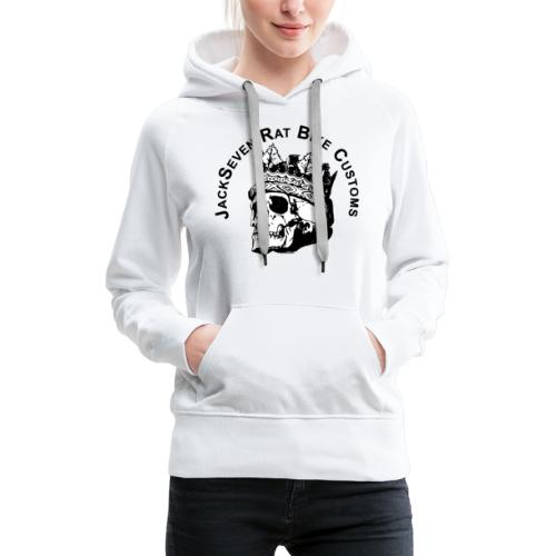 JackSeven Customs - Skull -Totenkopf - Bobber - Frauen Premium Hoodie