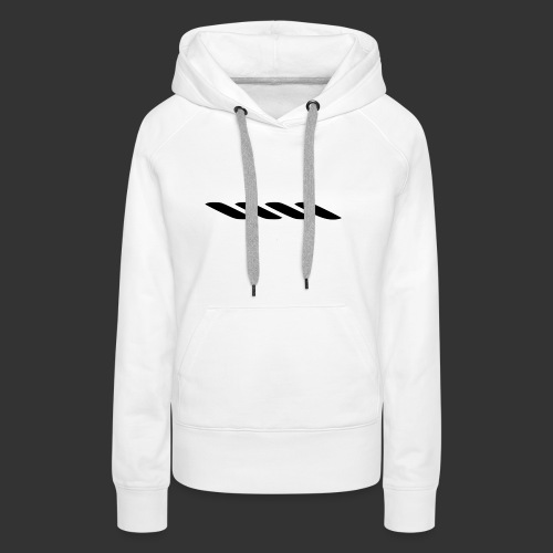 Rope With Bite Logo - Women's Premium Hoodie